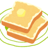 おいしいトースト